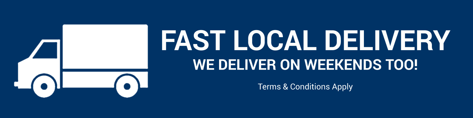 Fast Local Delivery banner