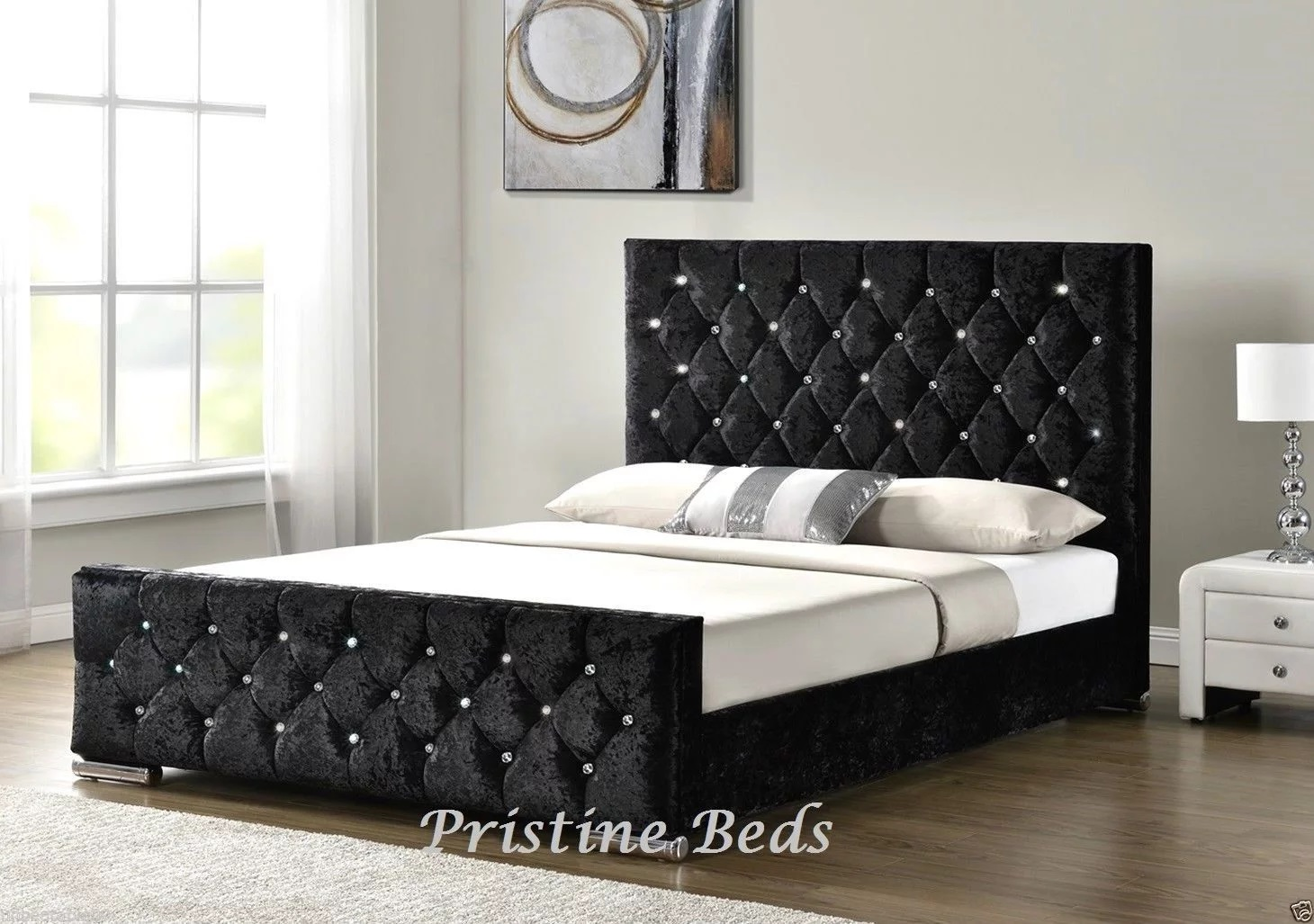 Pristine Beds Milan Sleigh Bed
